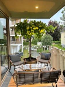 Balkon gestalten Klissenbauer